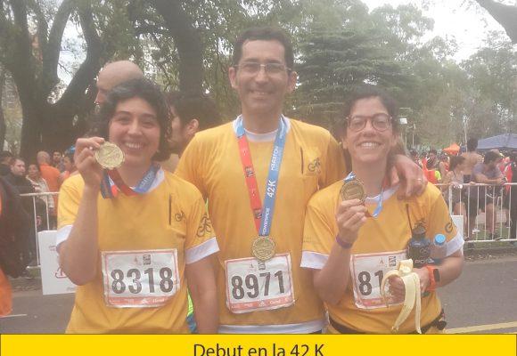 Buenos Aires Maratón de calle 42 K